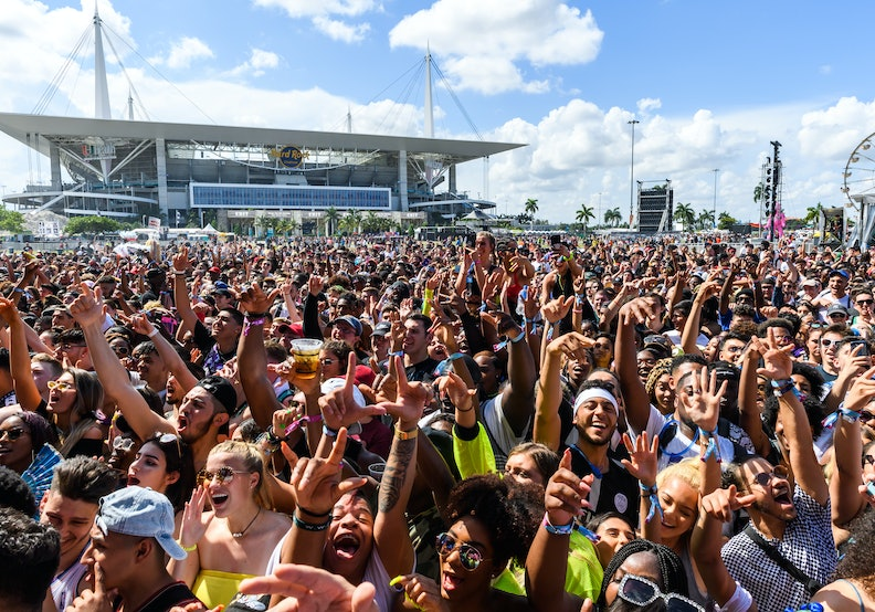 FORT LAUDERDALE, FLORIDA - MAY 10:  Atmosphere during Rolling Loud at Hard Rock Stadium on May 10, 2019 in Miami Gardens, Florida. (Photo by Jason Koerner/Getty Images)