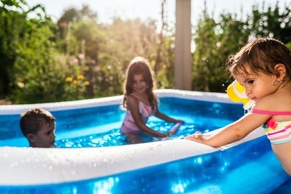 Kiddie pools have to be drained every week, experts say.
