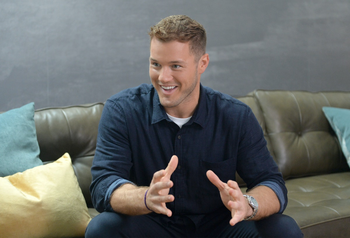MAR VISTA, CALIFORNIA - OCTOBER 08: Colton Underwood stars in a new ad campaign for Tubi, the worlds...