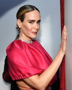 HOLLYWOOD, CALIFORNIA - FEBRUARY 24: Sarah Paulson attends the 91st Annual Academy Awards at Hollywo...