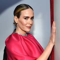HOLLYWOOD, CALIFORNIA - FEBRUARY 24: Sarah Paulson attends the 91st Annual Academy Awards at Hollywood and Highland on February 24, 2019 in Hollywood, California. (Photo by Kevork Djansezian/Getty Images)