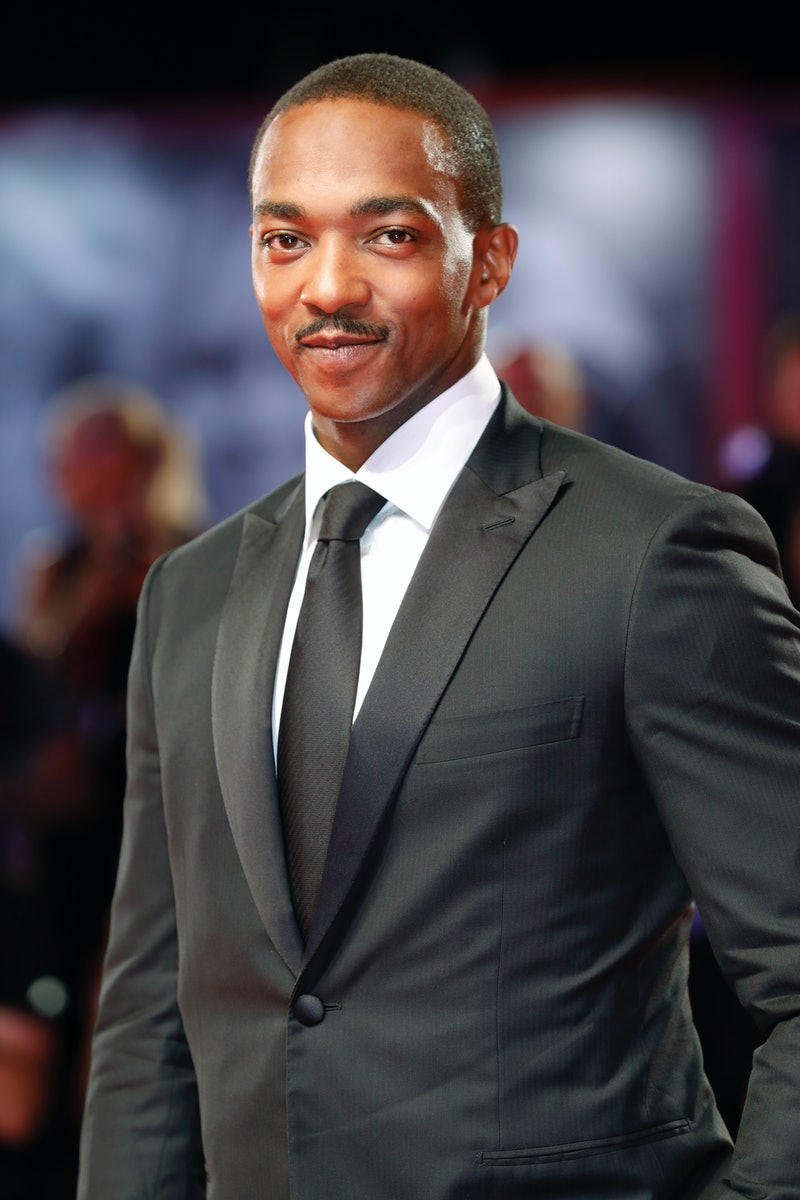 VENICE, ITALY - AUGUST 30: (EDITORS NOTE: Image has been digitally retouched) Anthony Mackie on the ...