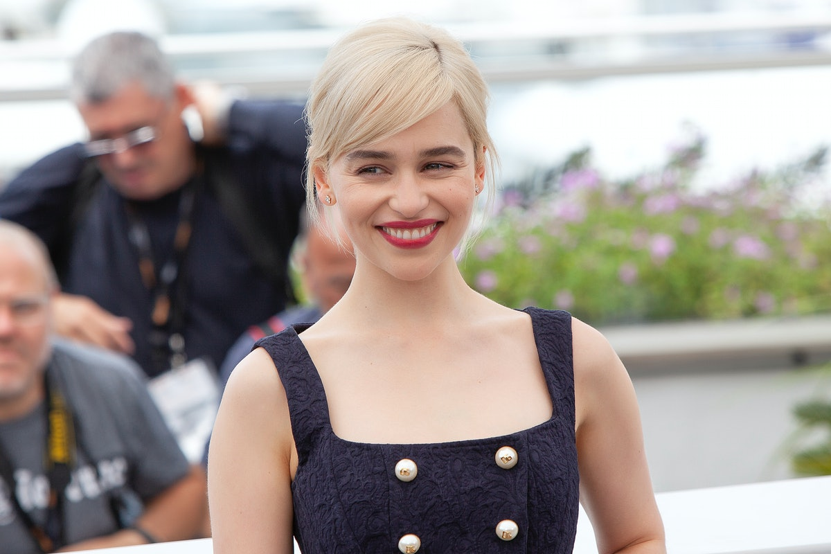 CANNES, FRANCE - MAY 15: Emilia Clarke attends the 'Solo: A Star Wars Story' official photocall at P...
