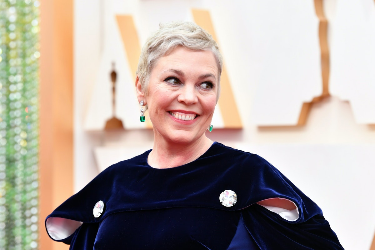 HOLLYWOOD, CALIFORNIA - FEBRUARY 09: Olivia Colman attends the 92nd Annual Academy Awards at Hollywo...