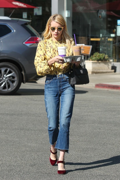 LOS ANGELES, CA - OCTOBER 19: Emma Roberts is seen on October 19, 2016 in Los Angeles, California.  (Photo by BG009/Bauer-Griffin/GC Images)