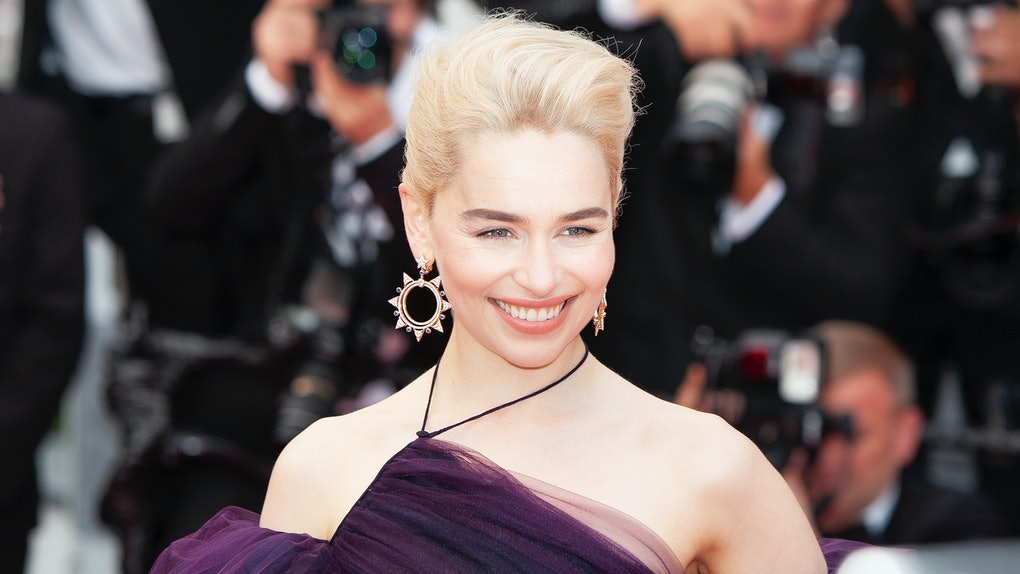 CANNES, FRANCE - MAY 15: Emilia Clarke attends the screening of 'Solo: A Star Wars Story' during the 71st annual Cannes Film Festival at Palais des Festivals on May 15, 2018 in Cannes, France. (Photo by Laurent KOFFEL/Gamma-Rapho via Getty Images)
