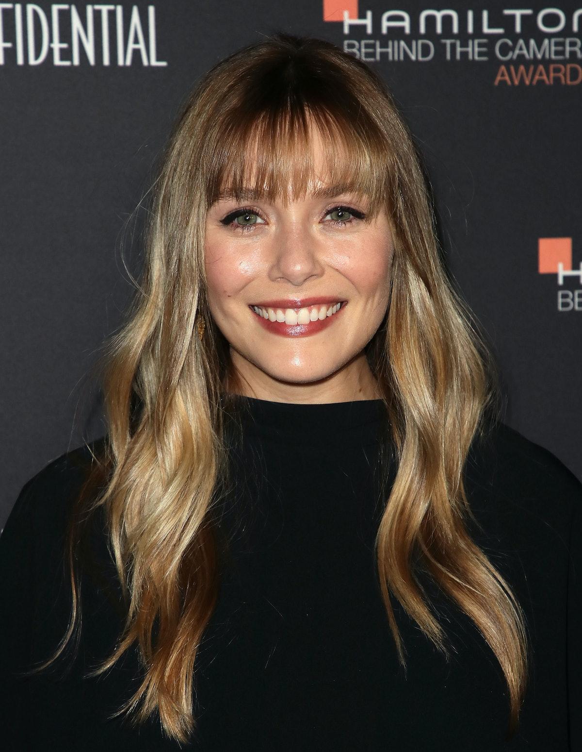 LOS ANGELES, CA - NOVEMBER 04:  Elizabeth Olsen attends the 10th Hamilton Behind The Camera Awards a...