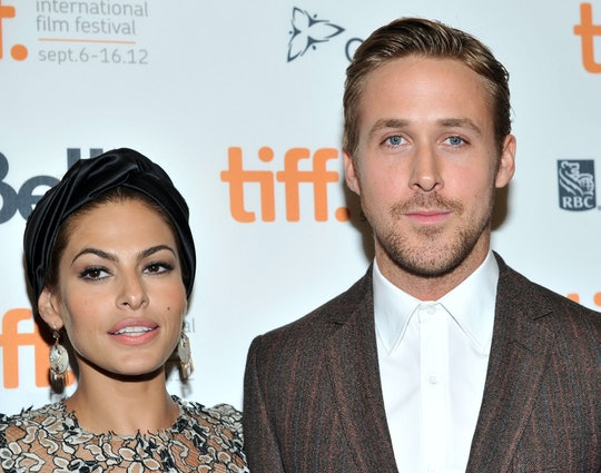 """TORONTO, ON - SEPTEMBER 07: Actors Eva Mendes and Ryan Gosling attend """"The Place Beyond The Pines"""" p..."""