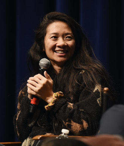 """BEVERLY HILLS, CA - APRIL 11:  Director Chloe Zhao attends a special screening of """"The Rider"""" at the..."""