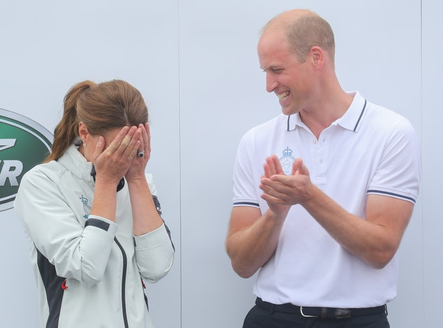 Kate Middleton and Prince William love to compete against each other.