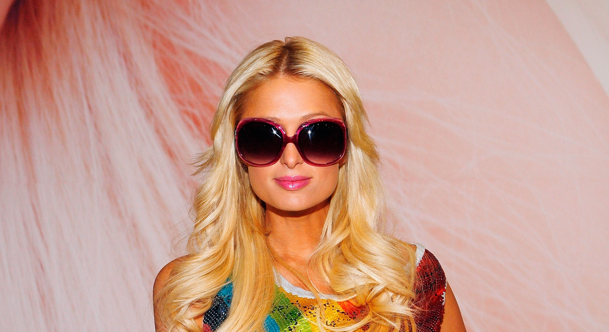 LAS VEGAS - OCTOBER 02:  Paris Hilton launches her sunglass line by Gripping Eyewear at the Sands Expo Center on October 2, 2009 in Las Vegas, Nevada.  (Photo by Isaac Brekken/Getty Images for Gripping Eyewear)