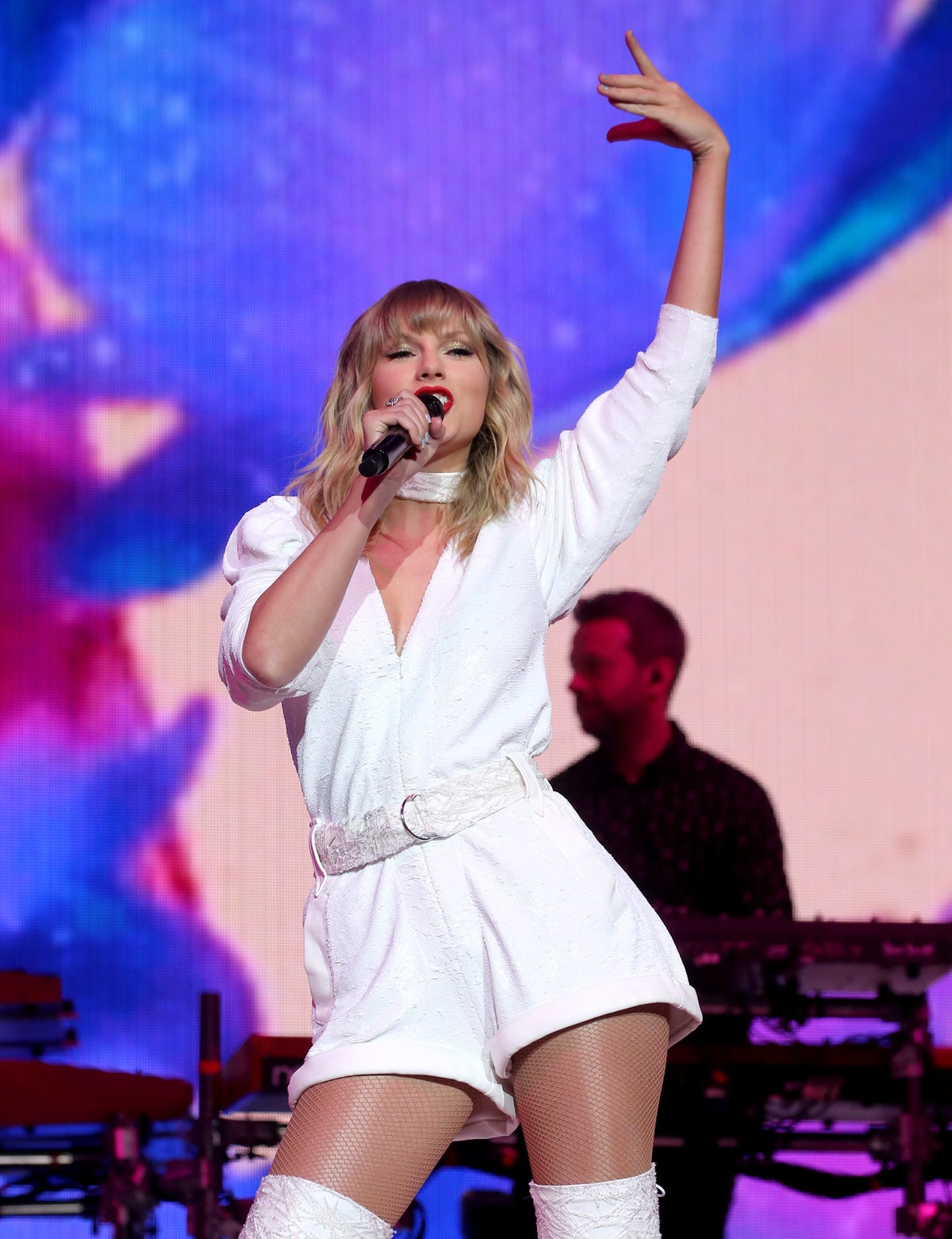 Taylor Swift performs on stage during day two of Capital's Jingle Bell Ball with Seat at London's O2...