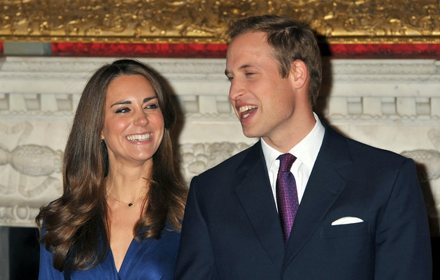 Prince William proposed in 2010.