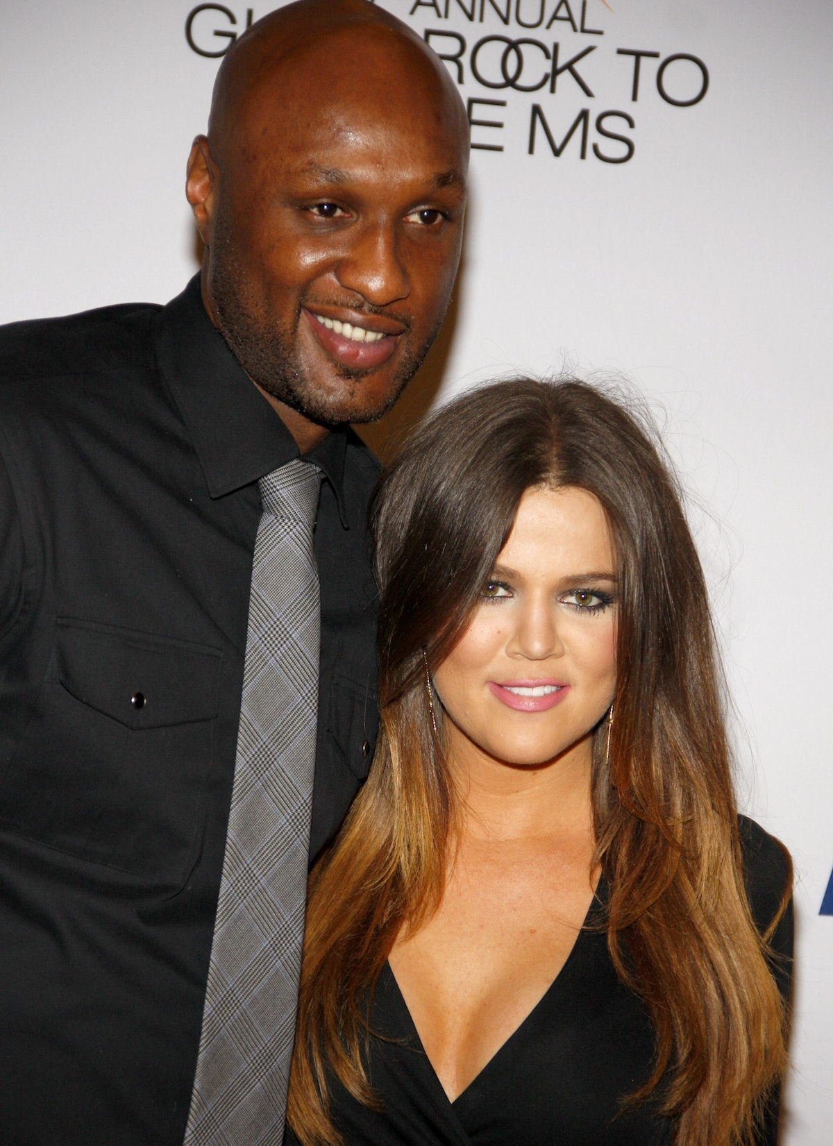 LOS ANGELES, USA - MAY 18: Lamar Odom and Khloe Kardashian at the 19th Annual Race To Erase MS held ...