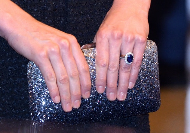 Kate Middleton's ring came from Prince Harry.