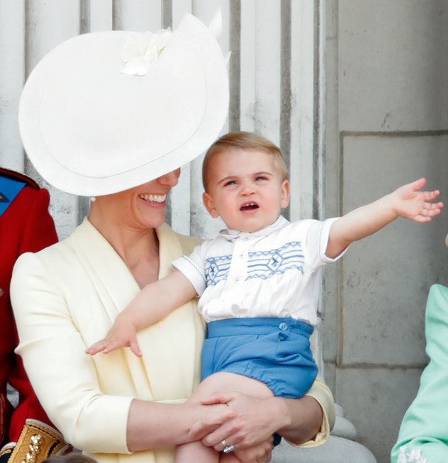 Prince Louis loved the Trooping The Colours.