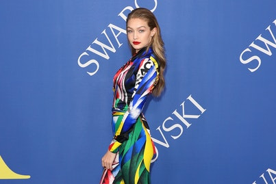 NEW YORK, NY - JUNE 04:  Gigi Hadid attends the 2018 CFDA Awards at Brooklyn Museum on June 4, 2018 in New York City.  (Photo by Taylor Hill/FilmMagic)