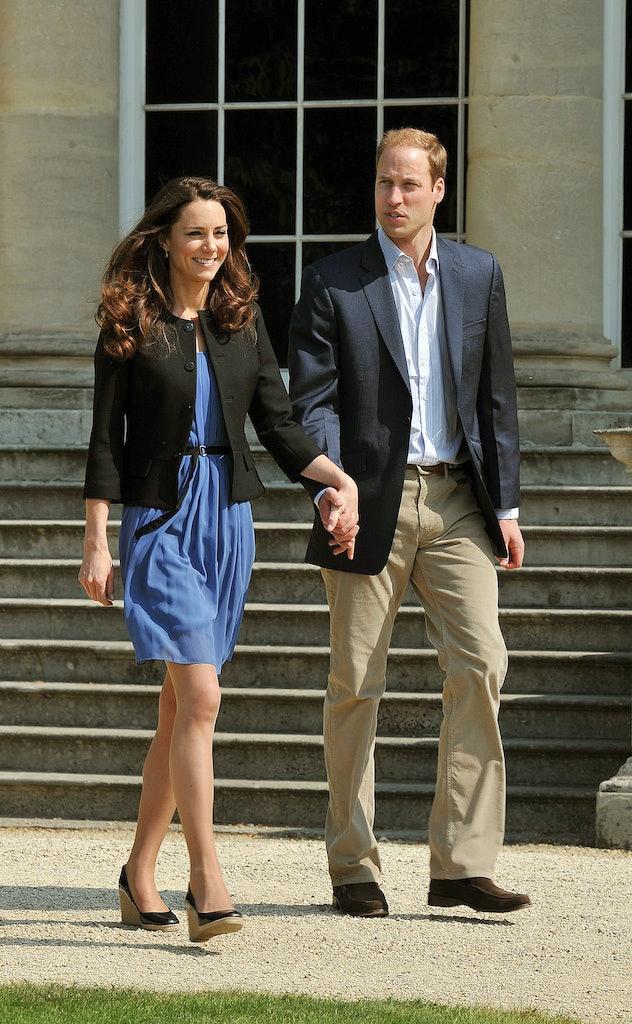 LONDON, ENGLAND - APRIL 30:  Prince William, Duke of Cambridge and Catherine, Duchess of Cambridge w...