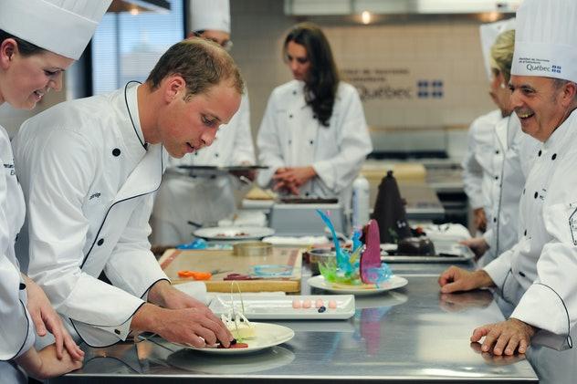 Prince William showed off in the kitchen for Kate Middleton.