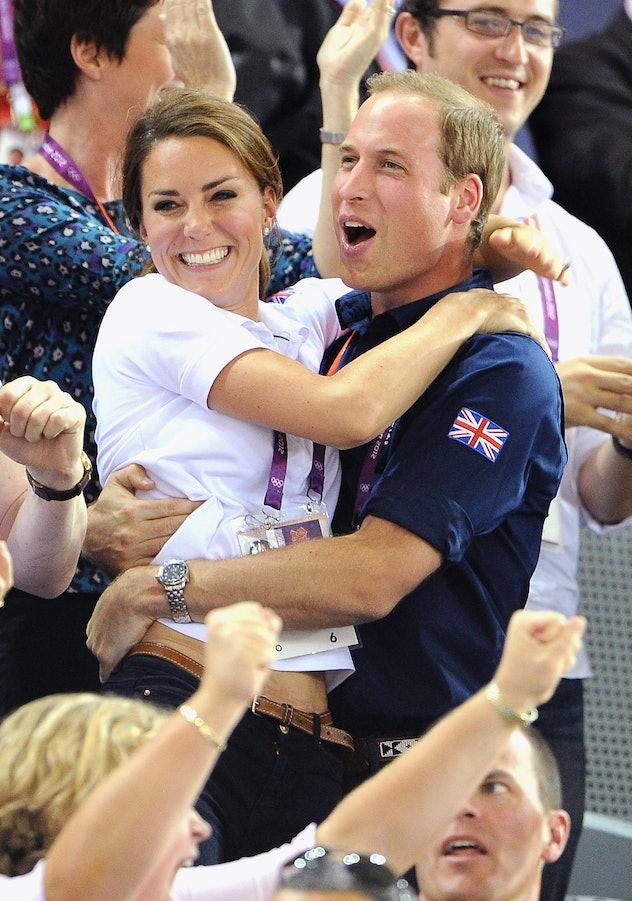 LONDON, ENGLAND - AUGUST 02:  Catherine, Duchess of Cambridge and Prince William, Duke of Cambridge ...