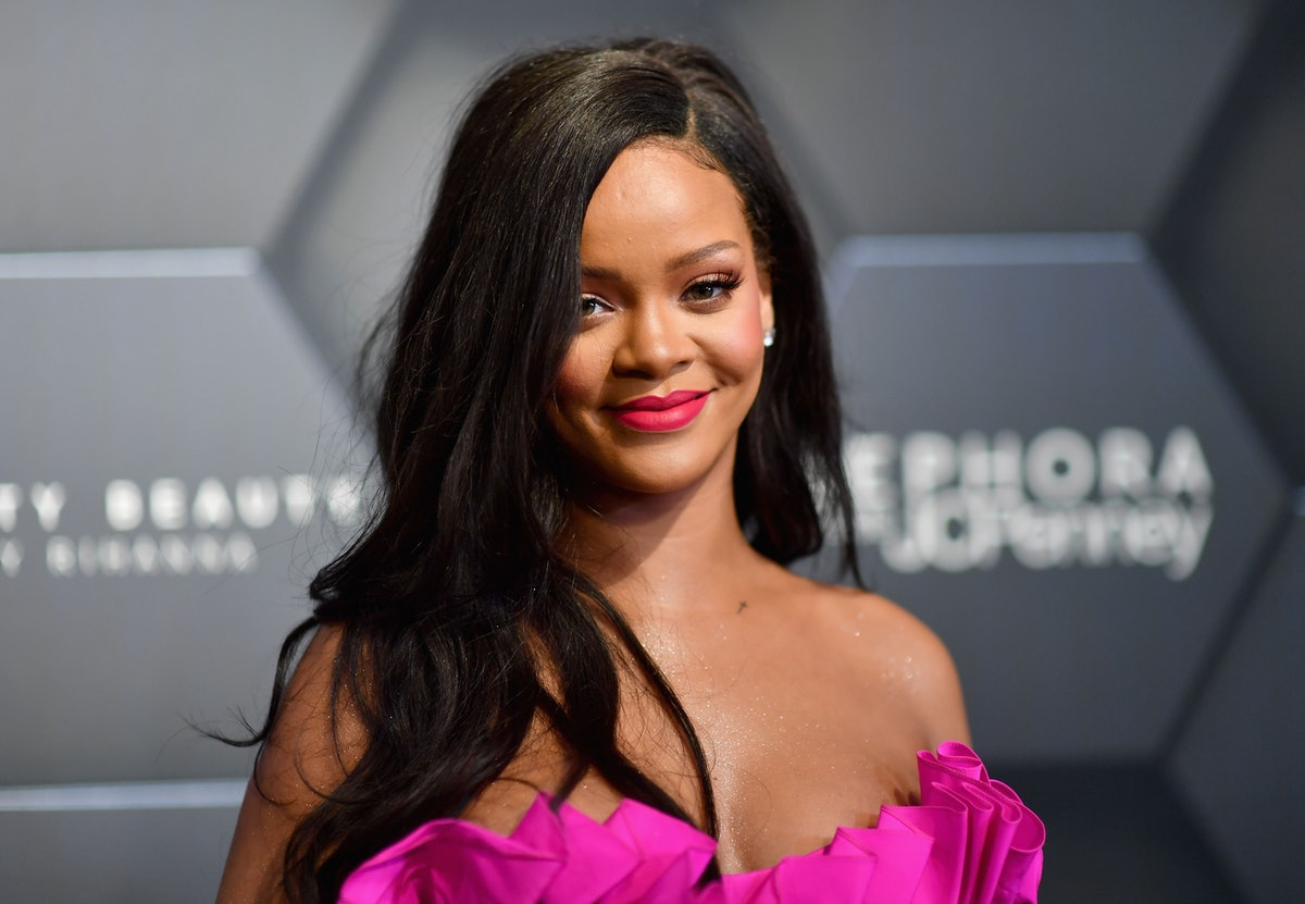 Rihanna attends the Fenty Beauty by Rihanna event at Sephora on September 14, 2018 in Brooklyn, New York. (Photo by Angela Weiss / AFP)        (Photo credit should read ANGELA WEISS/AFP via Getty Images)