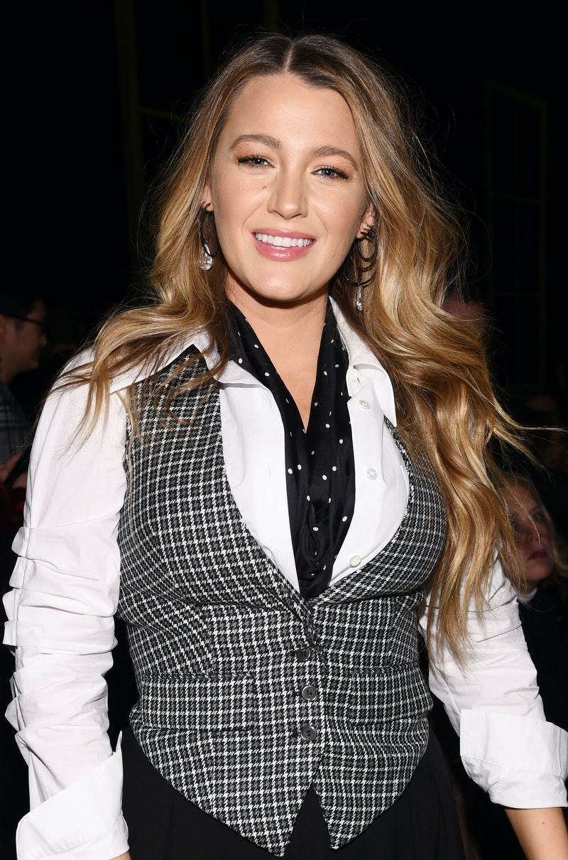 NEW YORK, NEW YORK - FEBRUARY 12: Blake Lively attends the Michael Kors FW20 Runway Show on February 12, 2020 in New York City. (Photo by Dimitrios Kambouris/Getty Images for Michael Kors)