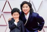 'Minari' actor Alan Kim had the time of his life at the Academy Awards on Sunday.