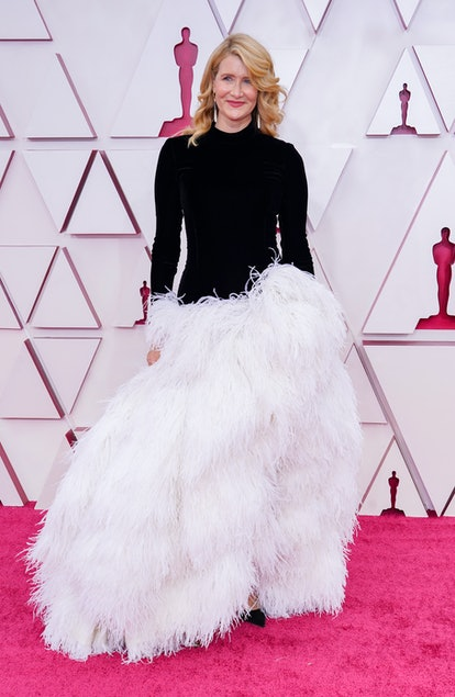 LOS ANGELES, CALIFORNIA – APRIL 25: Laura Dern attends the 93rd Annual Academy Awards at Union Station on April 25, 2021 in Los Angeles, California. (Photo by Chris Pizzello-Pool/Getty Images)