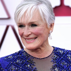 LOS ANGELES, CALIFORNIA – APRIL 25: Glenn Close attends the 93rd Annual Academy Awards at Union Station on April 25, 2021 in Los Angeles, California. (Photo by Chris Pizzelo-Pool/Getty Images)