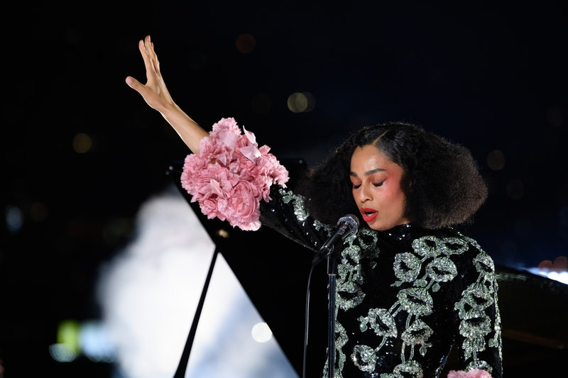 """2021 Best Original Song nominee Celeste performs """"Hear My Voice"""" at ABC's 2021 Oscars pre-show (Photo by Richard Harbaugh/A.M.P.A.S. via Getty Images)"""