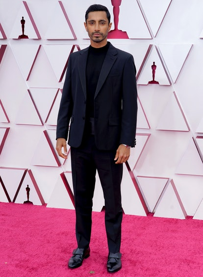 LOS ANGELES, CALIFORNIA – APRIL 25: Riz Ahmed attends the 93rd Annual Academy Awards at Union Station on April 25, 2021 in Los Angeles, California. (Photo by Chris Pizzelo-Pool/Getty Images)