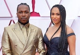 Leslie Odom Jr. enjoyed a new parent date night with Nicolette Robinson.