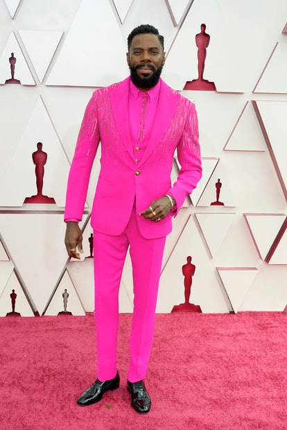 LOS ANGELES, CALIFORNIA – APRIL 25: Colman Domingo attends the 93rd Annual Academy Awards at Union Station on April 25, 2021 in Los Angeles, California. (Photo by Chris Pizzelo-Pool/Getty Images)