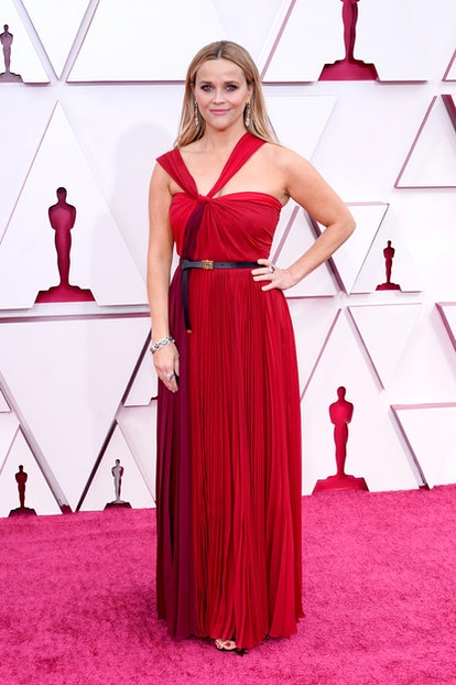 LOS ANGELES, CALIFORNIA – APRIL 25: Reese Witherspoon attends the 93rd Annual Academy Awards at Unio...