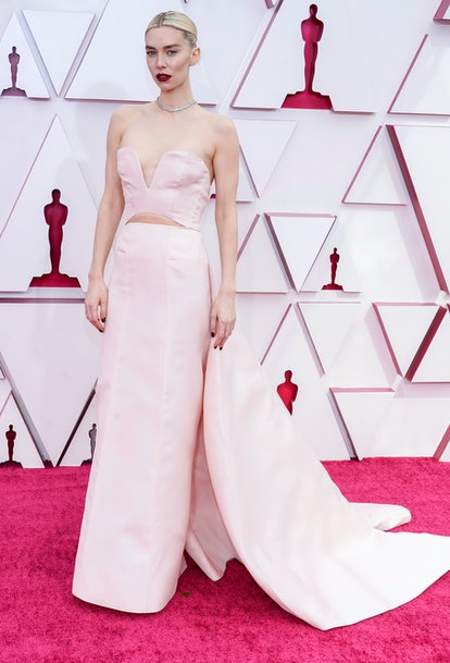 LOS ANGELES, CALIFORNIA – APRIL 25: Vanessa Kirby attends the 93rd Annual Academy Awards at Union Station on April 25, 2021 in Los Angeles, California. (Photo by Chris Pizzello-Pool/Getty Images)