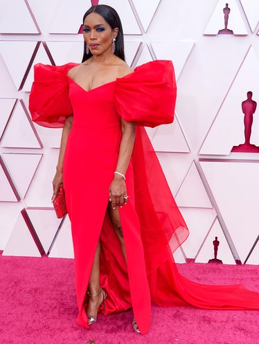 LOS ANGELES, CALIFORNIA – APRIL 25: Angela Bassett attends the 93rd Annual Academy Awards at Union S...