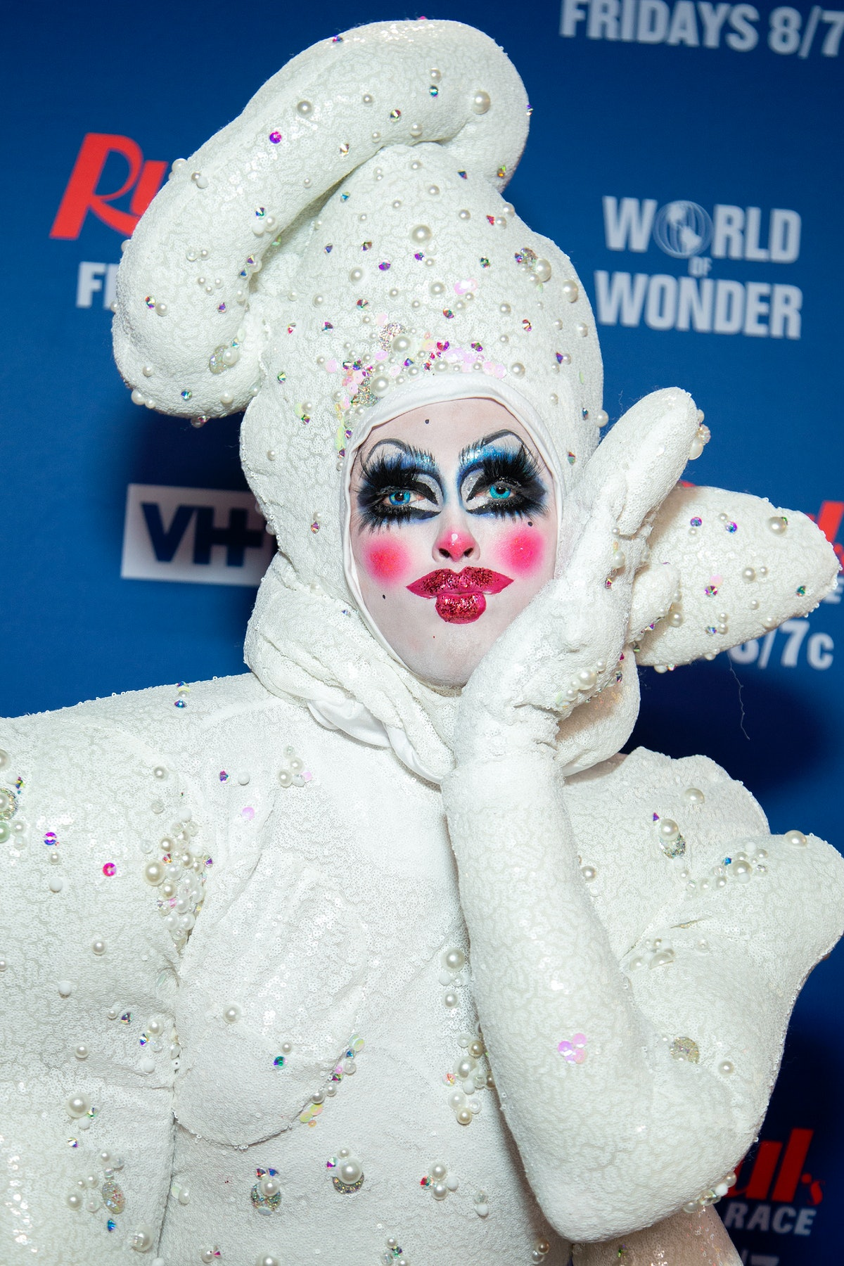 NEW YORK, NEW YORK - FEBRUARY 26: Crystal Methyd attends 'RuPaul's Drag Race Season 12' meet the que...