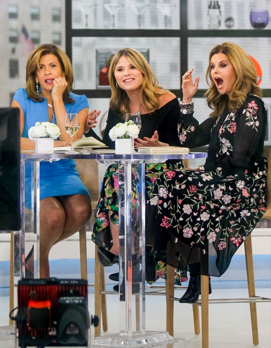 Hoda Kotb, Jenna Bush, and Maria Shriver are seen on January 09, 2019 in New York City.  (Photo by J...