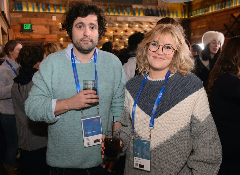 PARK CITY, UT - JANUARY 21:  Chris Vernon and Emerald Fennell attend Brunch with the Brits during the 2018 Sundance Film Festival on January 21, 2018 in Park City, Utah.  (Photo by Daniel Boczarski/Getty Images for British Film Commission)