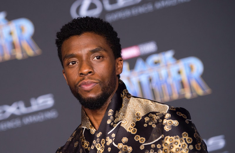 Actor Chadwick Boseman attends the world premiere of Marvel Studios Black Panther, on January 29, 2018, in Hollywood, California. (Photo by VALERIE MACON / AFP) (Photo by VALERIE MACON/AFP via Getty Images)