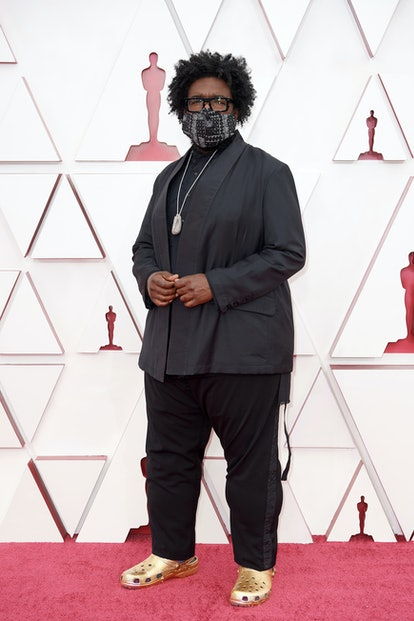 LOS ANGELES, CALIFORNIA – APRIL 25: (EDITORIAL USE ONLY) In this handout photo provided by A.M.P.A.S., Questlove attends the 93rd Annual Academy Awards at Union Station on April 25, 2021 in Los Angeles, California. (Photo by Matt Petit/A.M.P.A.S. via Getty Images)