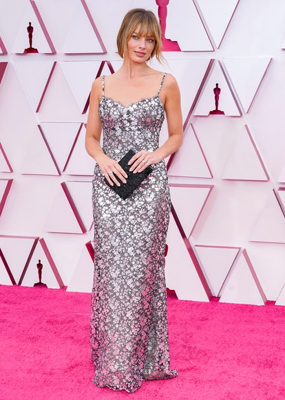 LOS ANGELES, CALIFORNIA – APRIL 25: Margot Robbie attends the 93rd Annual Academy Awards at Union St...