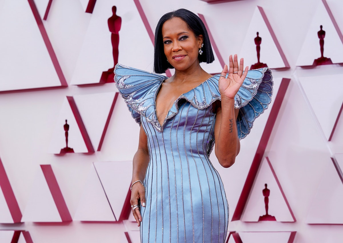 Regina King's opening at the 2021 Oscars inspired tons of tweets.
