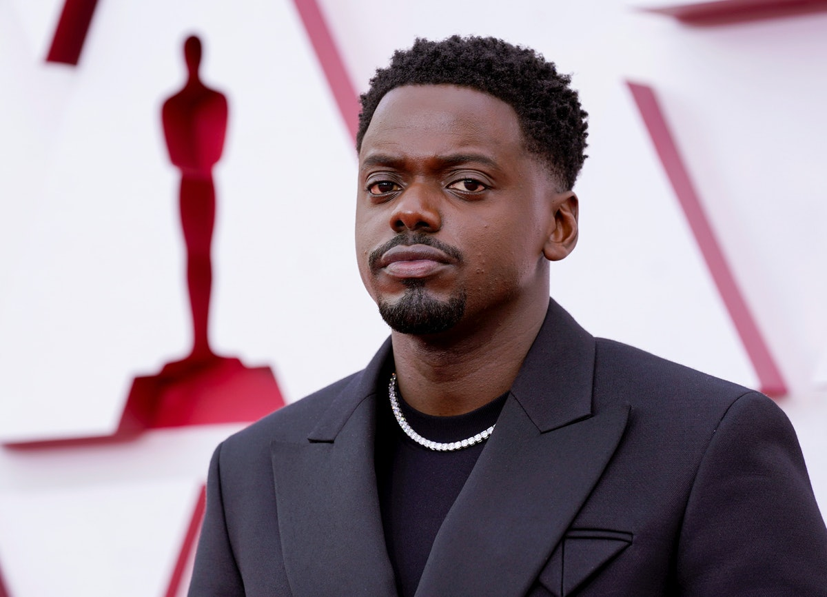 Daniel Kaluuya's mom had a great reaction at the 2021 Oscars to his acceptance speech.