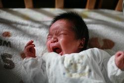 baby crying at night
