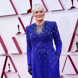 LOS ANGELES, CALIFORNIA – APRIL 25: Glenn Close attends the 93rd Annual Academy Awards at Union Station on April 25, 2021 in Los Angeles, California. (Photo by Chris Pizzello-Pool/Getty Images)
