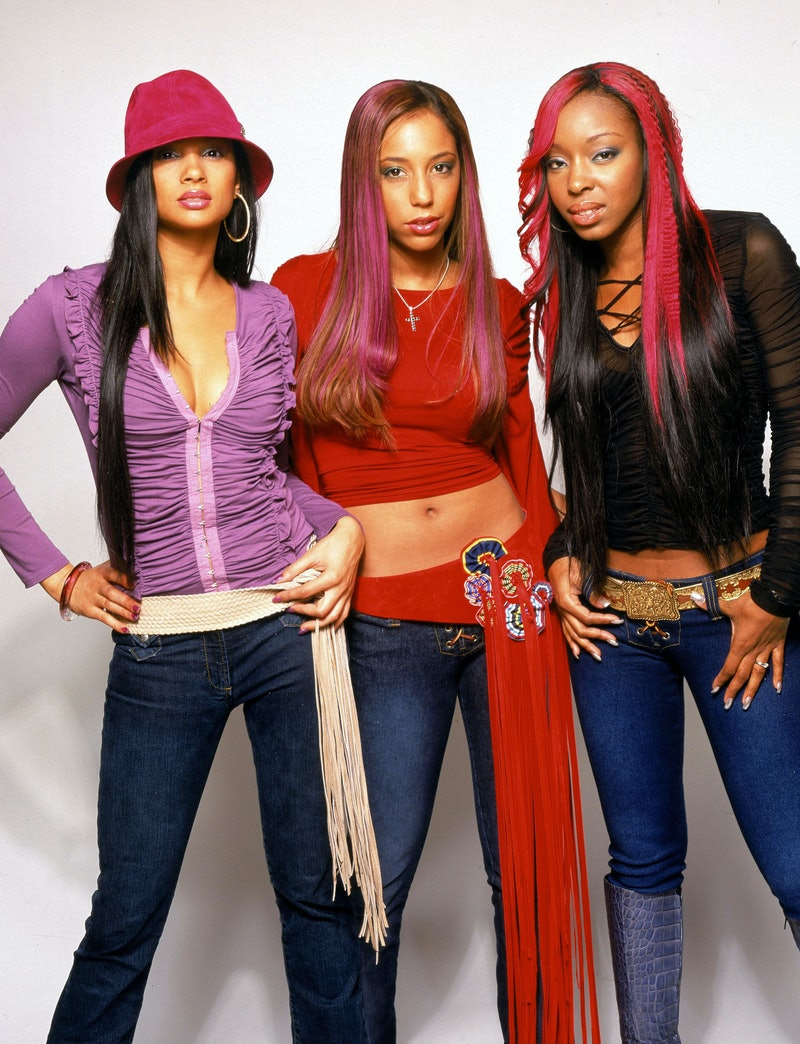 British girl group Mis Teeq, circa 2002. (Photo by Tim Roney/Getty Images)