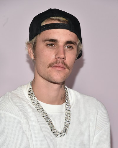 """LOS ANGELES, CALIFORNIA - JANUARY 27: Justin Bieber attends the premiere of YouTube Original's """"Justin Bieber: Seasons"""" at the Regency Bruin Theatre on January 27, 2020 in Los Angeles, California. (Photo by Alberto E. Rodriguez/Getty Images)"""