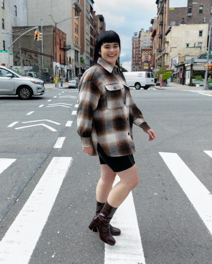 NEW YORK, NEW YORK - SEPTEMBER 10: Barbie Ferreira is seen on September 10, 2019 in New York City. (Photo by Rochelle Brodin/WireImage)