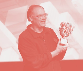 WEST HOLLYWOOD, CALIFORNIA - JUNE 12: Tim Sweeney is awarded during the BAFTA Presents Special Award to Epic Games at The London on June 12, 2019 in West Hollywood, California. (Photo by Rachel Luna/Getty Images)